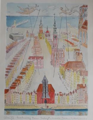 Gdańsk, Przestawiony Żuraw