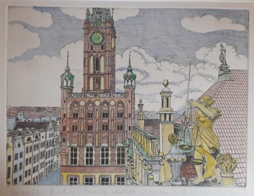 Gdańsk Ratusz i Temida