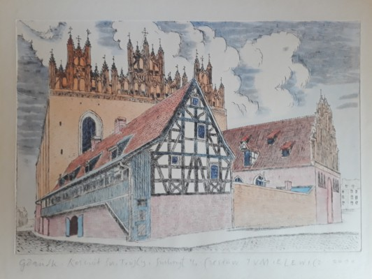 Gdańsk  Kościół Świetej Trójcy