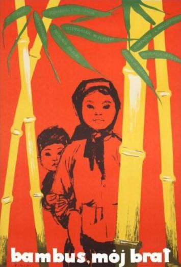 Plakat do filmu Bambus Mój Brat