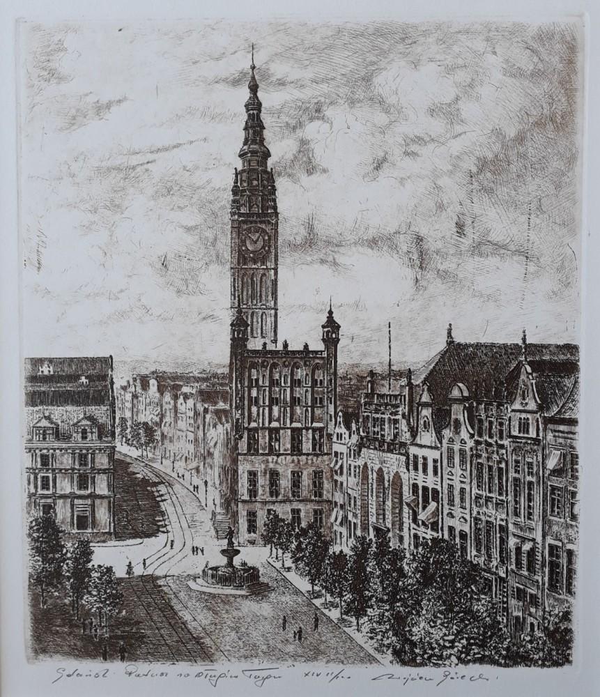 Gdańsk Ratusz na Długim Targu